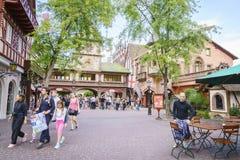 Área temático de Alemanha - parque do Europa na oxidação, Alemanha Fotos de Stock Royalty Free