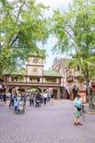 Área temático de Alemanha - parque do Europa na oxidação, Alemanha Fotografia de Stock