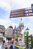Área temático de Alemanha - parque do Europa na oxidação, Alemanha Foto de Stock