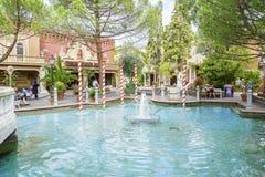 Área temático de Itália - parque do Europa, Alemanha Fotos de Stock