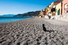 Área turística conocida como varigotti Italia Imagen de archivo
