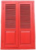 área vermelha da aleta da tampa da arte da porta velha imagem de stock