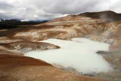 Área vulcânica fotografia de stock royalty free