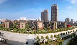 Áreas residenciales de China Fotografía de archivo libre de regalías
