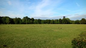 Áreas verdes nos subúrbios do scenery_Europe de Germany_Simple foto de stock
