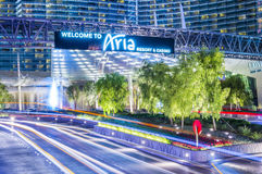 Ária de Las Vegas Fotos de Stock Royalty Free