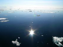 Ártico de fusión fotografía de archivo