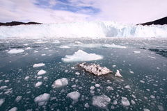 Ártico Groenlandia del hielo de deriva Foto de archivo