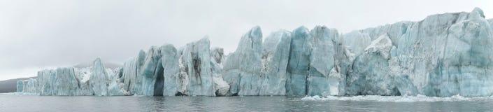 Ártico - panorama da geleira Foto de Stock