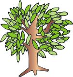 Árvore Ilustração Stock