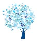 Árvore abstrata ilustração stock
