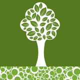 Árvore abstrata Imagem de Stock Royalty Free