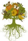 A árvore abstrata Imagens de Stock Royalty Free
