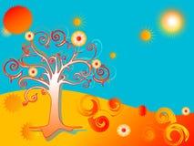 Árvore abstrata Fotografia de Stock Royalty Free