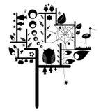 Árvore abstrata Imagem de Stock
