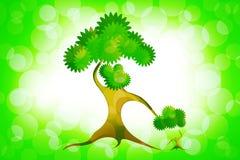 Árvore abstrata da mãe Fotos de Stock Royalty Free