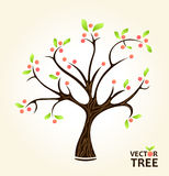 Árvore abstrata do verão Imagem de Stock Royalty Free