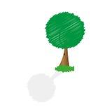 Árvore abstrata do vetor Foto de Stock