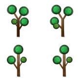 Árvore, arte de papel Foto de Stock Royalty Free