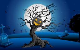 Árvore assombrada Imagens de Stock
