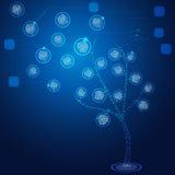 Árvore binária ilustração do vetor