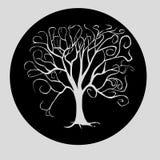 Árvore branca Ilustração Royalty Free