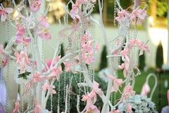 Árvore Wedding decorada fotografia de stock