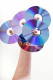 Árvore CD Imagens de Stock