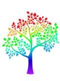 Árvore colorida Ilustração do Vetor
