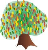 Árvore colorida Foto de Stock Royalty Free
