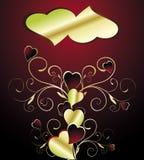 Árvore com coração Imagem de Stock