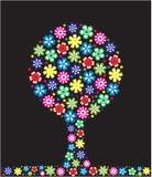 Árvore com flores Imagem de Stock Royalty Free