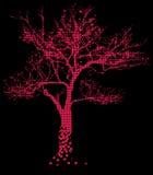 Árvore cor-de-rosa Foto de Stock Royalty Free