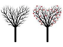 Árvore - coração Foto de Stock Royalty Free