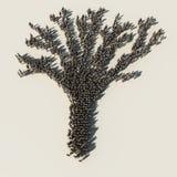 Árvore corporativa ilustração royalty free