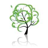 Árvore da arte bonita Fotos de Stock Royalty Free
