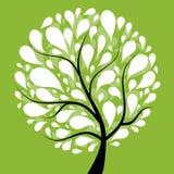Árvore da arte bonita para seu projeto Imagens de Stock Royalty Free
