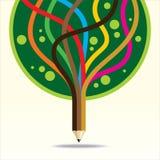 Árvore da arte e da criação Imagem de Stock Royalty Free