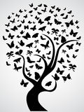 Árvore da borboleta Imagem de Stock Royalty Free
