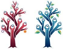 Árvore da chave inglesa Imagens de Stock Royalty Free