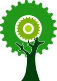 Árvore da engrenagem Imagens de Stock