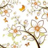 Árvore da flor ilustração royalty free