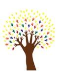 Árvore da mão ilustração do vetor