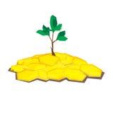 Árvore da moeda Ilustração Royalty Free