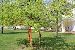 Árvore da Páscoa Fotografia de Stock