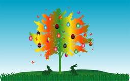 Árvore da Páscoa Imagens de Stock Royalty Free