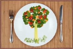 Árvore da salsa e do aipo Fotografia de Stock