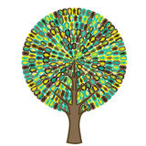 Árvore da Sociologia - ícone dos povos Fotografia de Stock Royalty Free