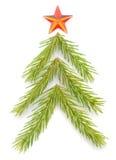Árvore de abeto ilustração stock
