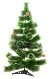 Árvore de abeto do Natal fotografia de stock royalty free